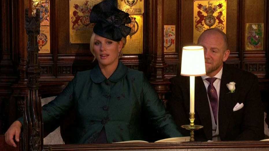 Zara Tindall, the granddaughter of Queen Elizabeth II seemed to be unamused by the royal wedding ceremony and her viral looked was caught on camera.
