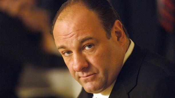 "This undated publicity photo, released by HBO, shows actor James Gandolfini in his role as Tony Soprano, head of the New Jersey crime family portrayed in HBO's ""The Sopranos."""