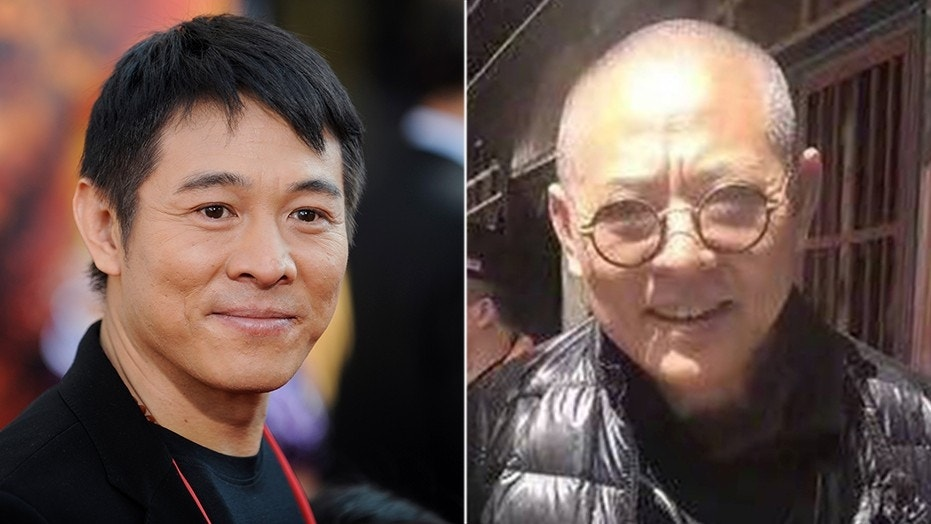 Jet Li pictured in 2008 (left) shocked fans recently when he was photographed looking frail after years of battling a slew of health problems. (Reuters/Weibo)