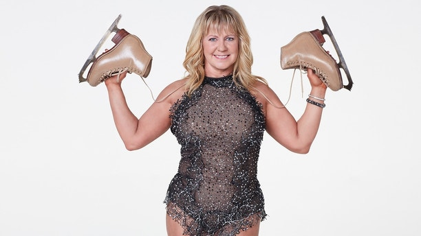 """DANCING WITH THE STARS: ATHLETES - Get ready, sports fans, for the most competitive season of """"Dancing with the Stars"""" ever as the show fires up the scoreboard and welcomes 10 athletes to sparkle up their uniforms and lace up their dancing shoes as they ready themselves for their first dance on the ballroom floor, on the season premiere of """"Dancing with the Stars: Athletes,"""" MONDAY, APRIL 30 (8:00-10:01 p.m. EDT), on The ABC Television Network. (ABC/Craig Sjodin)TONYA HARDING"""