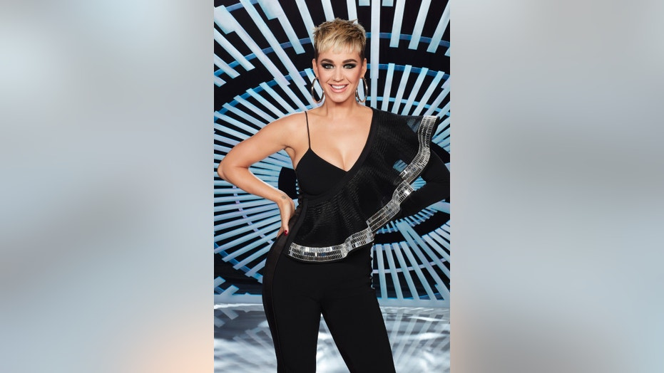 "Katy Perry, a judge on ABC's ""American Idol,"" took the opportunity to reveal a bit about her relationship on the season finale."
