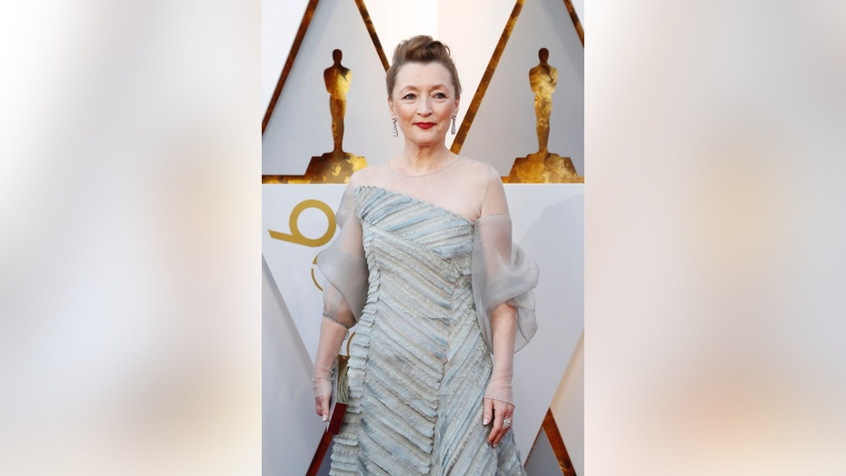 "Actress Lesley Manville stars in the British dramady ""Mum."""