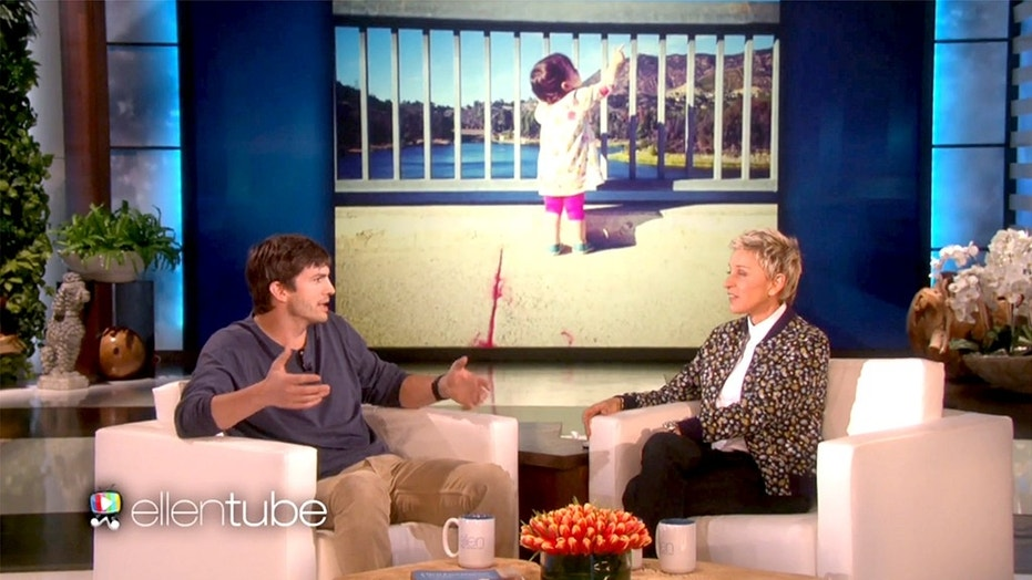 Ashton Kutcher Shocks Ellen DeGeneres With a $4 Million Donation