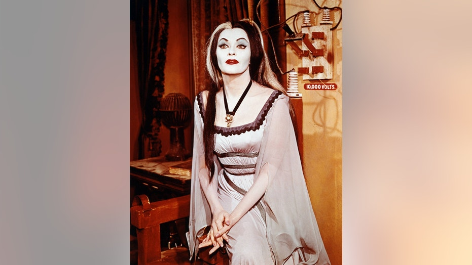 """Yvonne De Carlo starred as Lily Munster in the hit sitcom """"The Munsters."""""""