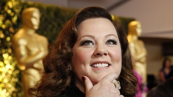 Actress Melissa McCarthy is interviewed at the Academy of Motion Picture Arts and Sciences' 2011 Governors Awards in Hollywood, California November 12, 2011.  REUTERS/Danny Moloshok (UNITED STATES - Tags: ENTERTAINMENT)