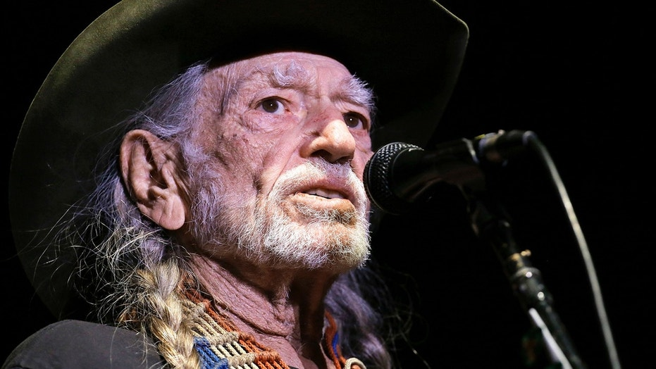 In this January 7, 2017, file photo, Willie Nelson plays in Nashville, Tennessee