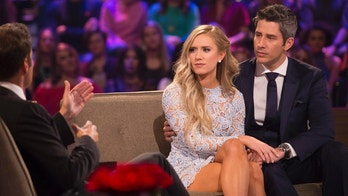 """THE BACHELOR - """"The Bachelor: After the Final Rose"""" - Arie's soul-searching journey continues after America followed the chaos of his being in love with two women, which played out in gut-wrenching fashion, on """"The Bachelor: After the Final Rose,"""" a two-hour live special, TUESDAY, MARCH 6 (8:00-10:01 p.m. EST), on The ABC Television Network. (ABC/Paul Hebert)CHRIS HARRISON, LAUREN, ARIE LUYENDYK JR."""