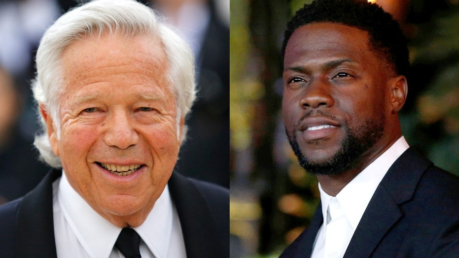 New England  Patriots owner Robert  Kraft helped save a man who had collapsed during Kevin Hart's show in Atlantic City, New Jersey over the holiday weekend.  Patriots owner Robert Kraft helps save Kevin Hart show-goer who collapsed during set Patriots owner Robert Kraft helps save Kevin Hart show-goer who collapsed during set 1527592311546