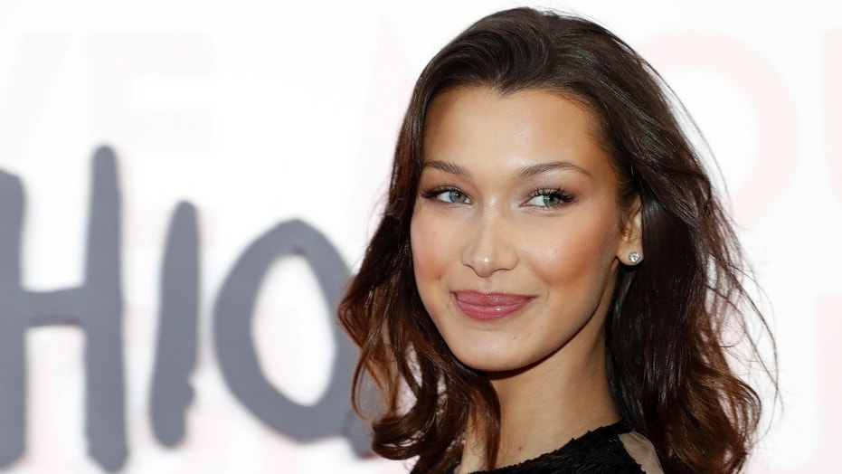 """Bella Hadid, here in March 2018, says she is scared of putting fillers into her lips. """"I wouldn't want to mess up my face,"""" she said."""
