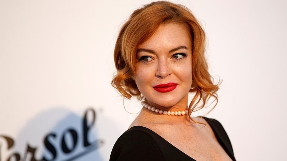 American actress Lindsay Lohan has found a new life in the Middle East.