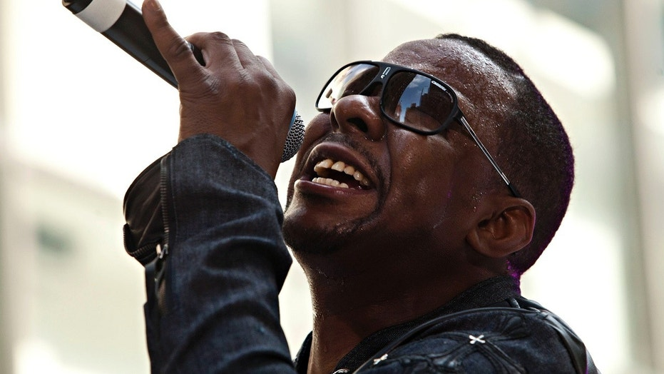 """Whitney Houston's ex-husband Bobby Brown has claimed he is """"just the person"""" to slap Kanye West, after the rapper picked an image of Houston's bathroom for an album cover."""