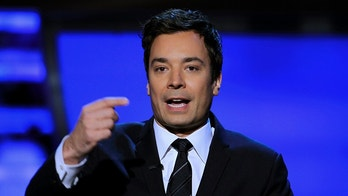 Comedian Jimmy Fallon presents the Never Say Never award at the Inaugural National Football League Honors at Super Bowl XLVI in Indianapolis, Indiana, February 4, 2012. REUTERS/Lucy Nicholson (UNITED STATES - Tags: SPORT FOOTBALL) - GM1E8250NWC01