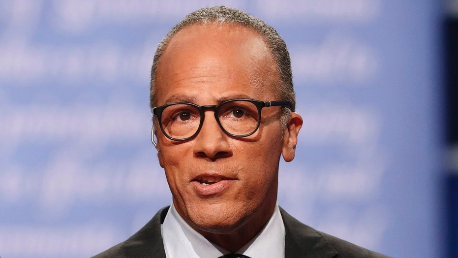 """Critics often point to Lester Holt's widely panned performance moderating a presidential debate for the decline in """"Nightly News."""""""