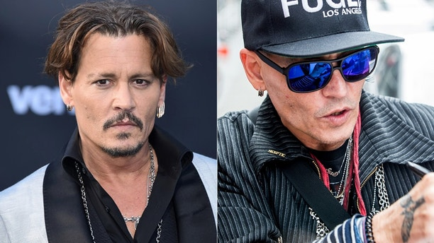 johnny depp then now split reuters splash