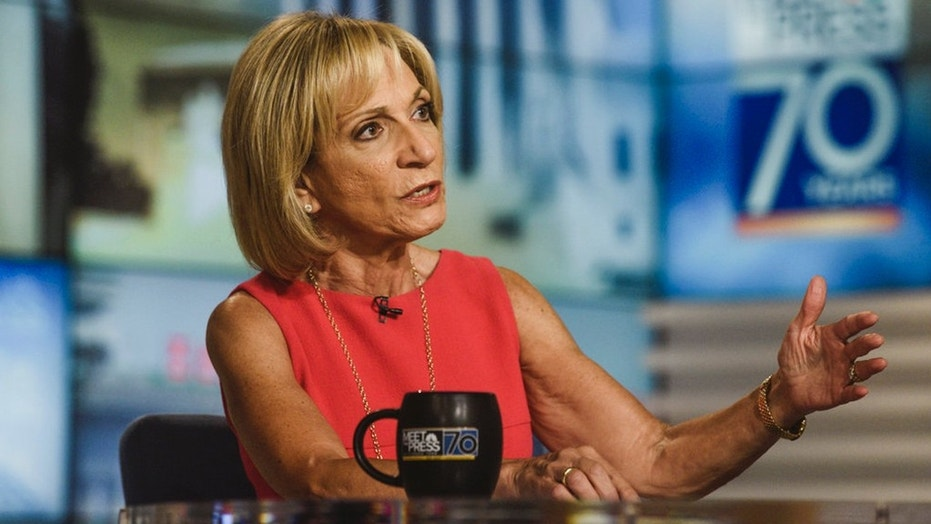 NBC News' Andrea Mitchell was mocked for biased journalism after tweeting in support of the Eagles.