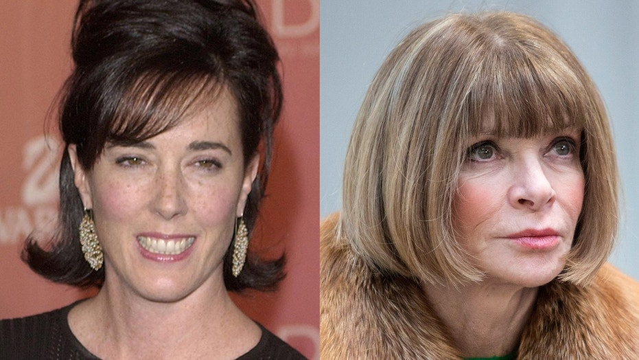 Anna Wintour, right, remembers the late Kate Spade, left, who died on June 5 from an apparent suicide. She was 55.