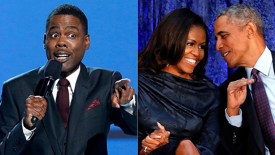 Chris Rock warned Barack and Michelle Obama about making their money off of Netflix.