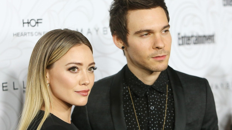 Hilary Duff and Matthew Koma arrive at the Entertainment Weekly hosts celebration honoring nominees for The Screen Actors Guild Awards held at Chateau Marmont
