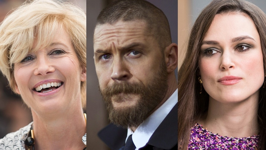 Emma Thompson, Keira Knightley and Tom Hardy are among some of the high-profile figures to be honored by the Britain's monarach for their merit, service and bravery.