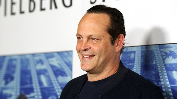 """FILE - In this Sept. 26, 2017, file photo, actor Vince Vaughn arrives at the Los Angeles premiere of """"Spielberg"""" at Paramount Studios in Los Angeles. Police say actor Vaughn was arrested on suspicion of drunken driving and resisting arrest in a Southern California beach town. Manhattan Beach police said Vaughn was arrested Sunday morning, June 10, 2018, at a sobriety checkpoint. (Photo by Willy Sanjuan/Invision/AP, File)"""