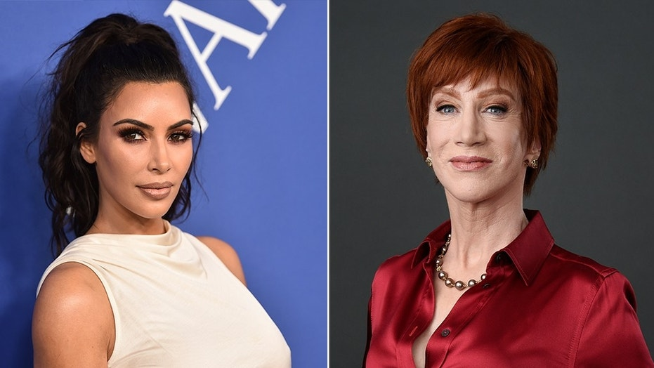 Kathy Griffin right reportedly suggested Kim Kardashian West left run for president in 2020
