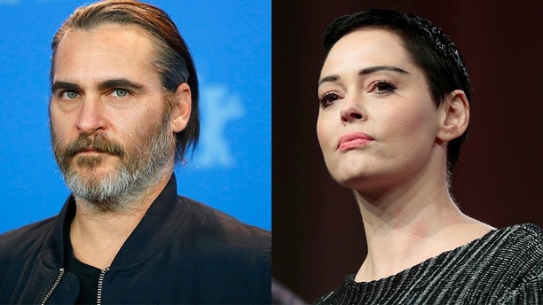 Reuters Joaquin Phoenix and Rose McGowan