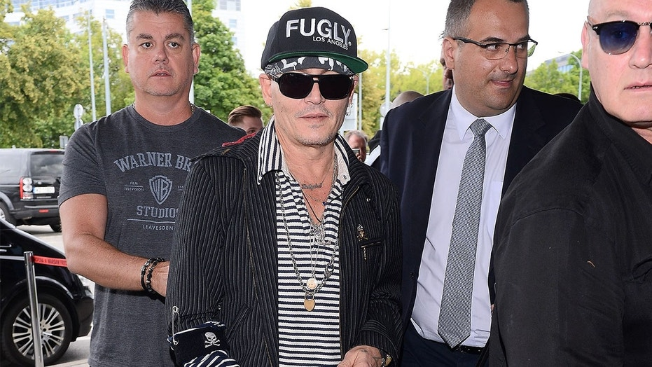 Johnny Depp is spotted in Warsaw, Poland on June 12 amid fan concerns over his frail appearance.