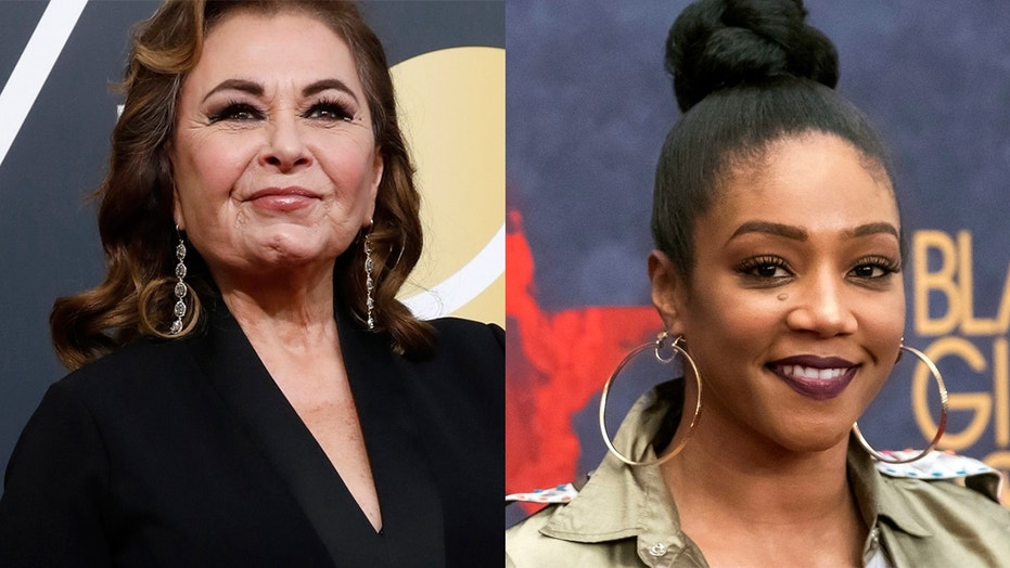 "Tiffany Haddish says Roseanne Barr has ""been racist"" in new interview."