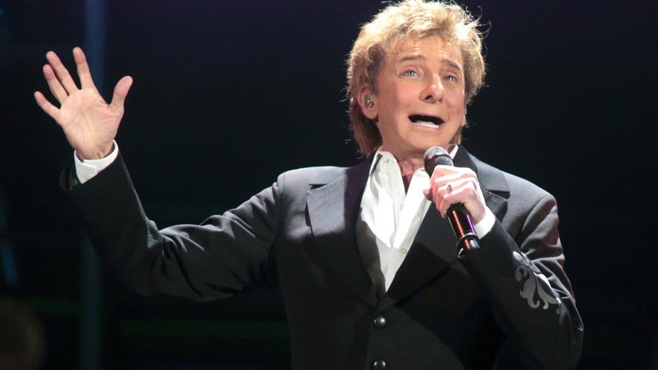 Barry Manilow has been hospitalized with a bronchial infection.