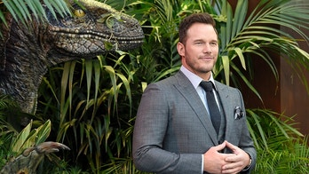 "Chris Pratt arrives at the Los Angeles premiere of ""Jurassic World: Fallen Kingdom"" at the Walt Disney Concert Hall on Tuesday, June 12, 2018. (Photo by Chris Pizzello/Invision/AP)"