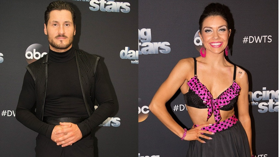 """Dancing with the Stars"" pros Val Chmerkovskiy and Jenna Johnson are engaged."