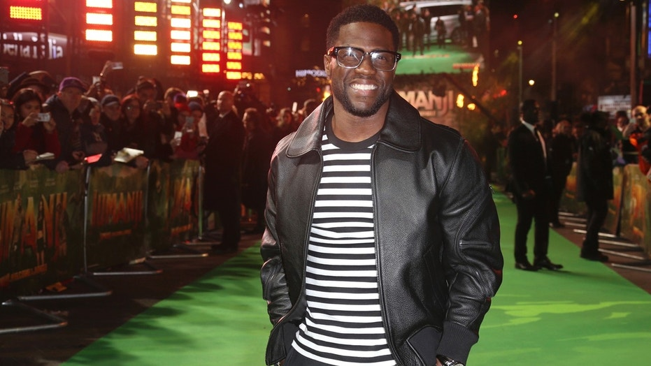 Social media users quickly jumped to comedian Kevin Hart's defense when Kathy Griffin attacked him for not talking about Donald Trump in his shows.