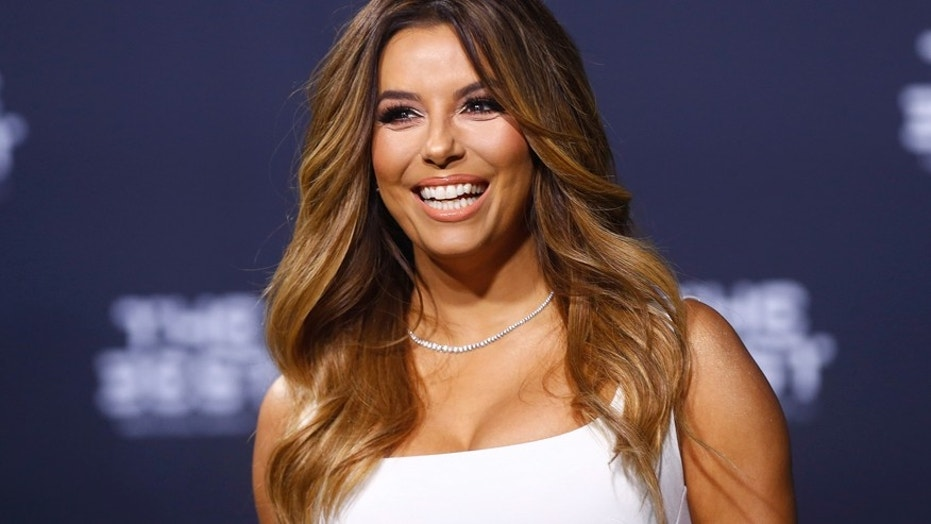 Eva Longoria announced on social media Friday that her 15-year-old beloved dog, Jinxy, died.