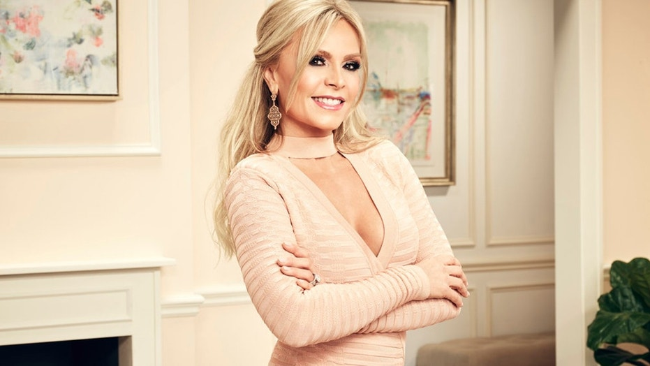 """""""Real Housewives of Orange County"""" star Tamra Judge posted completely nude pictures of herself on Instagram."""