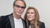 Lloyd Klein and Jocelyn Wildenstein attend the Jean-Yves Klein: Chimeras Exhibition at Gallery Molly Krom on October 8, 2015 in New York City.