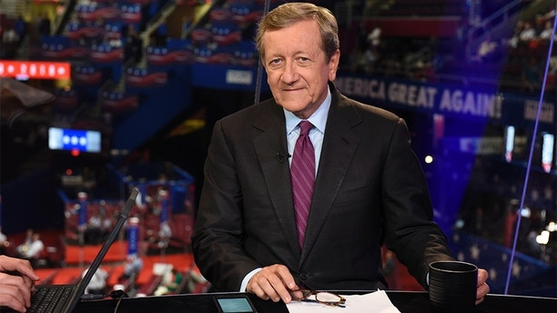 ABC NEWS - 7/18/16 - Coverage of the 2016 Republican National Convention from the Convention Center in Cleveland, Ohio, which airs on all ABC News programs and platforms.   (Photo by Ida Mae Astute/ABC via Getty Images)   BRIAN ROSS