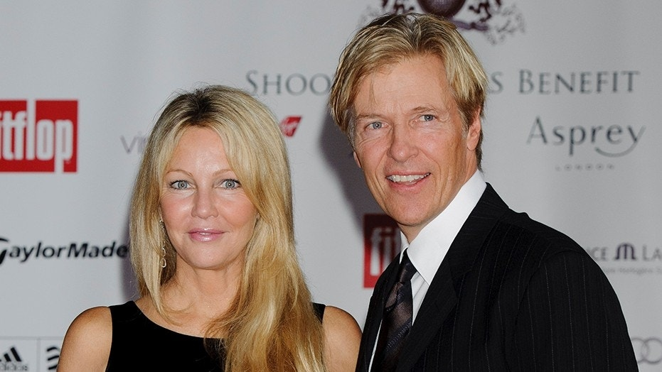 Jack Wagner said he's praying for his ex-fiancee Heather Locklear after her hospitalization.