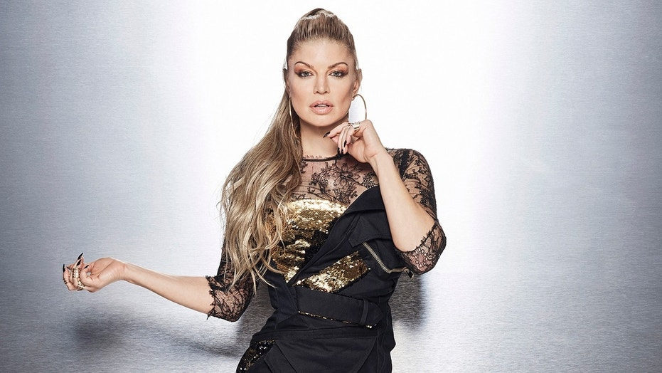 "Fergie hosts ""The Four,"" Fox's reality singing competition."