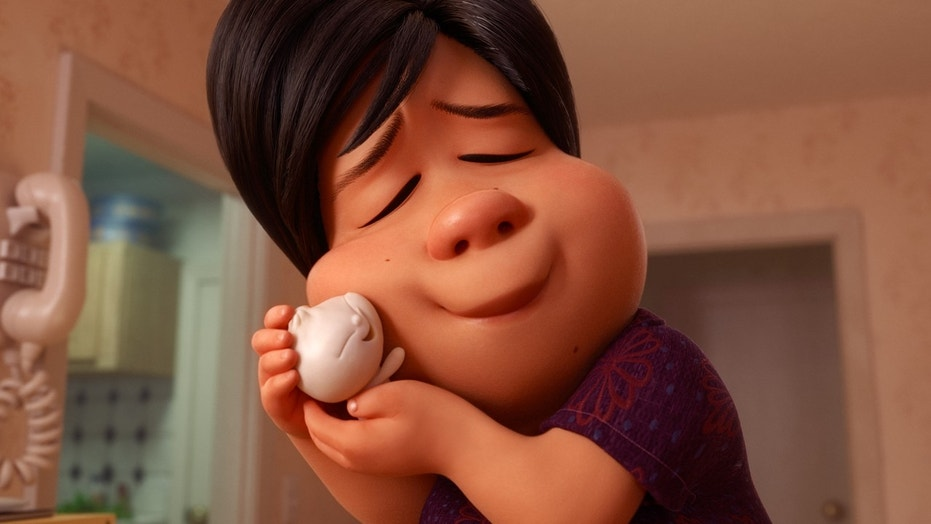 """Domee Shi is the first female director of a Pixar short. """"Bao"""" is the animated short film featured before """"Incredibles 2."""" Shi attends the Shorts Program: Bao during the 2018 Tribeca Film Festival at Regal Battery Park 11 in New York City, April 21, 2018."""
