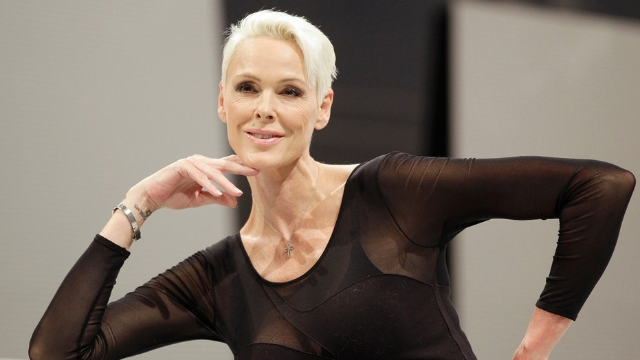 Brigitte Nielsen's daughter Frida was born in Los Angeles on Friday.