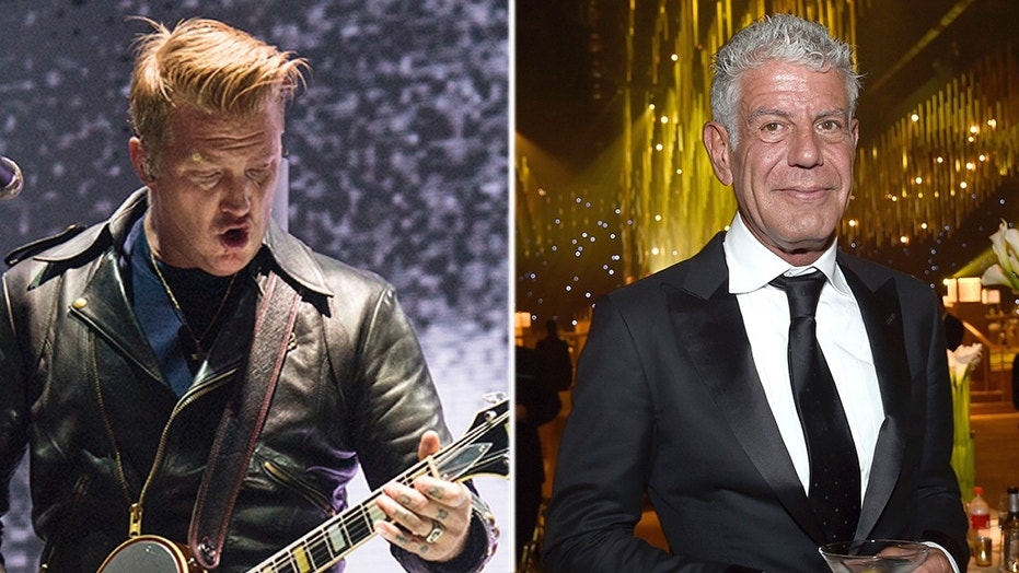 Queens of the Stone Age rocker Josh Homme shared a letter Anthony Bourdain wrote to his daughter.
