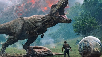 "This image released by Universal Pictures shows a scene from the upcoming ""Jurassic World: Fallen Kingdom,"" in theaters on June 22. Universal Pictures  has announced plans for a third installment in the rebooted dinosaur franchise. ""Jurassic World 3"" will land in June 2021. (Universal Pictures via AP)"