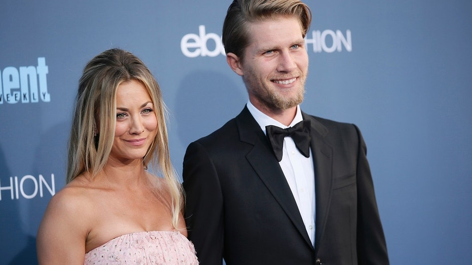 Actress Kaley Cuoco surprised fans when she married Karl Cook on Saturday in a horse-themed wedding at his family's horse ranch in San Diego.