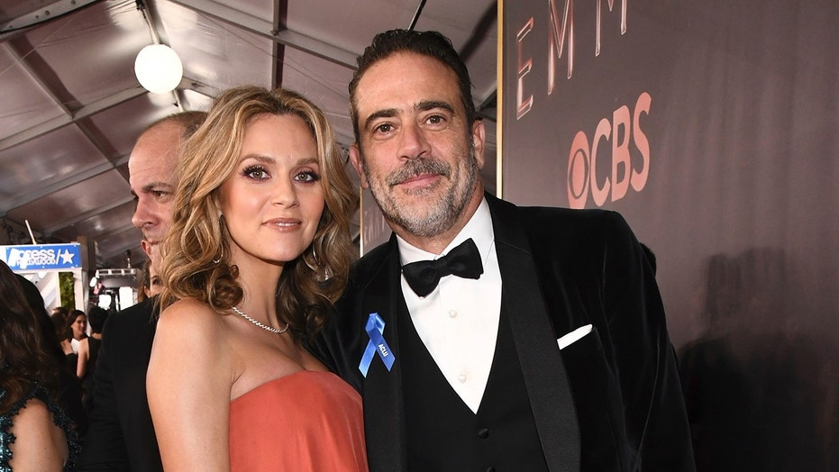 Jeffrey Dean Morgan and his wife Hilarie Burton have asked fans to stop showing up at his house.