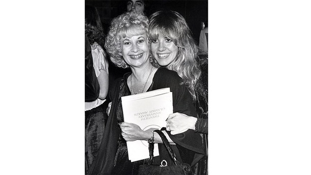 LOS ANGELES - FEBRUARY 23:  Fleetwood Mac singer Stevie Nicks attends the 20th annual Grammy awards ceremony with her Mother Barbara Nicks at the Shrine Auditorium on February 23, 1978 in Los Angeles, California (Photo by Ron Galella/WireImage)