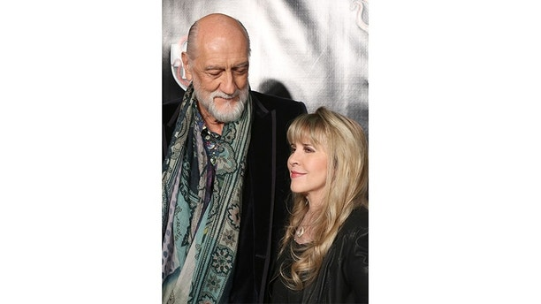 NEW YORK, NY - DECEMBER 06:  Mick Fleetwood and Stevie Nicks attend the Broadway Opening Night Performance of 'School of Rock' at the Winter Garden Theatre on December 6, 2015 in New York City.  (Photo by Walter McBride/WireImage)