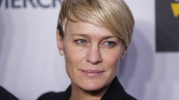 Actress Robin Wright arrives for the opening night of the Women in the World summit in New York April 22, 2015. REUTERS/Lucas Jackson  - GF10000069387