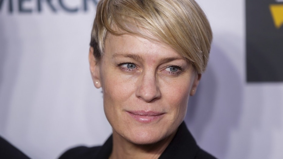 "Patricia Clarkson said Robin Wright lobbied to keep ""House of Cards"" going."