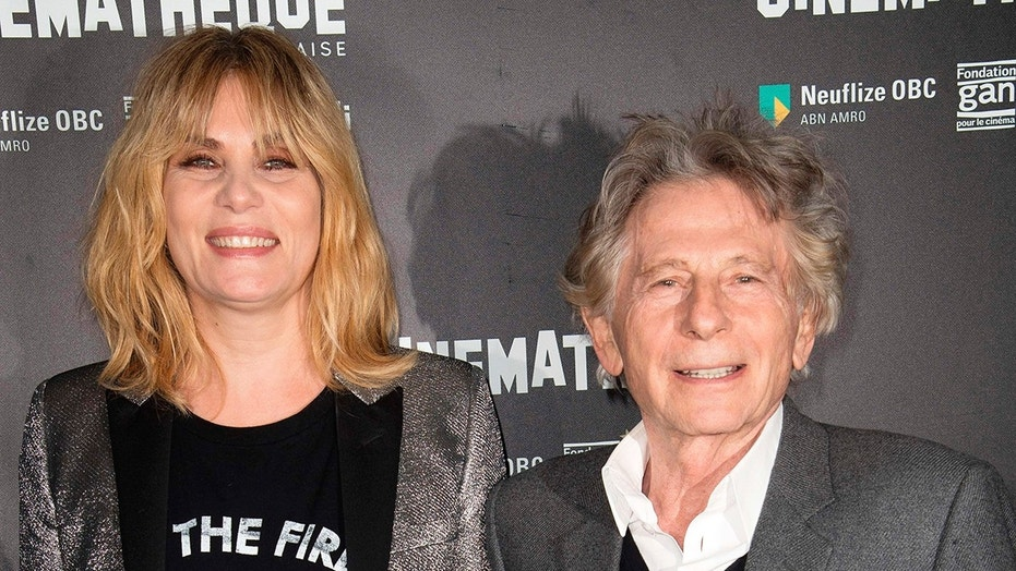 French-Polish director Roman Polanski poses with actress Emmanuelle Seigner during a photocall for his latest film, 'Based on a True Story' at the Cinematheque in Paris. French feminists will stage a protest against Polanski, who was accused of a string of sexual assaults several years ago. October 30, 2017 X17online.com USA ONLY