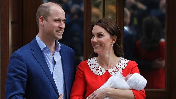 Prince Louis' 6 Godparents Announced Ahead of Christening
